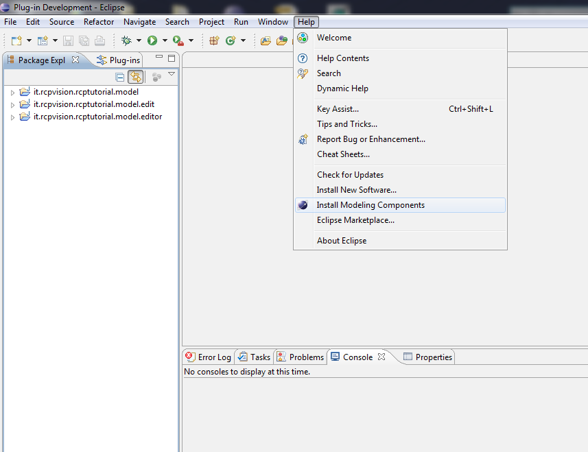 Eclipse GMF: a graphical editor for EMF models – RCP Vision